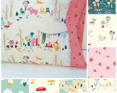 Custom, Organic Cotton, Toddler/Travel Pillow Case: It's My Party - Choose Your Fabric, Organic Pillowcase, Woodland, Bears, Strawberries