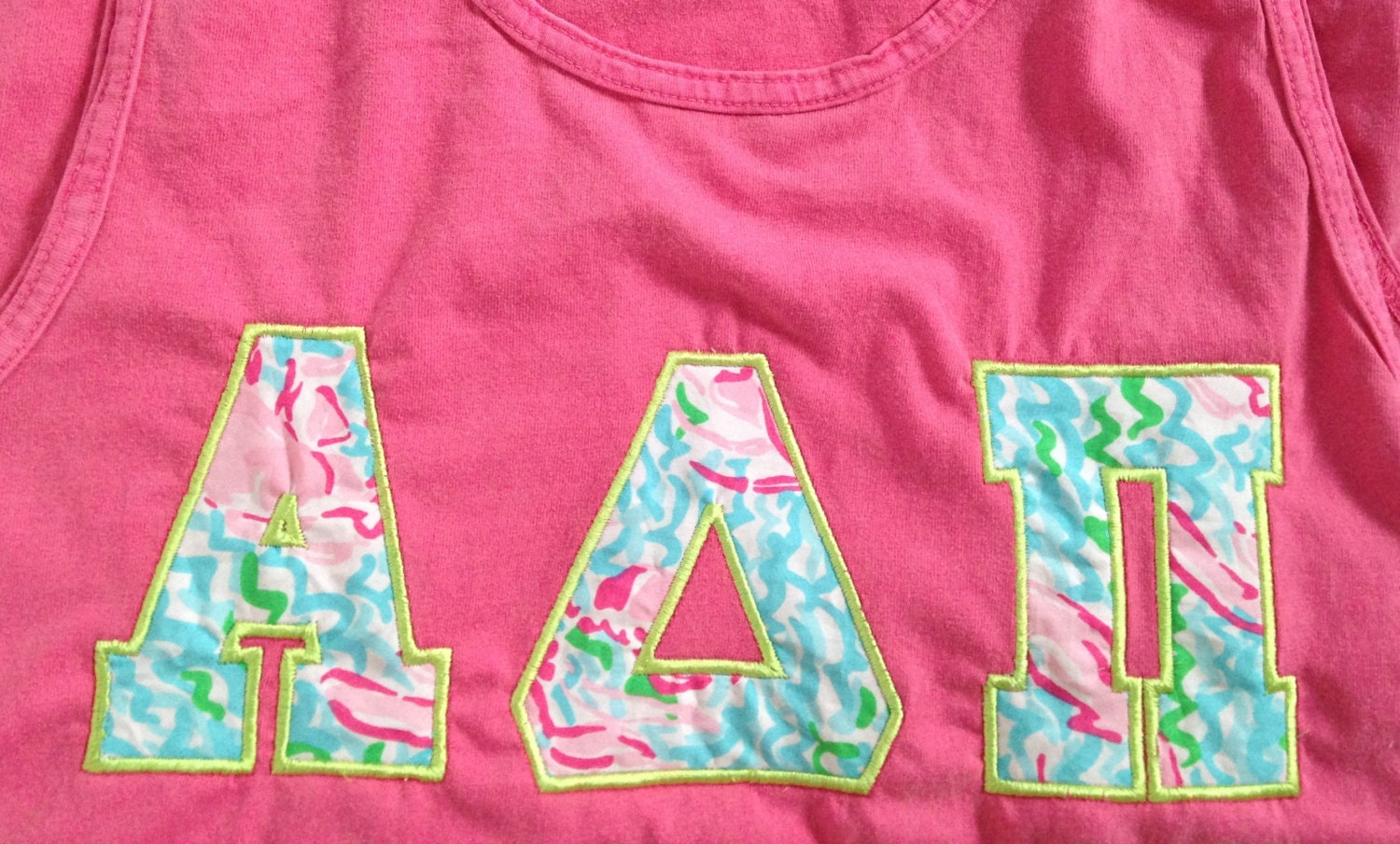 Sorority letter shirts lilly pulitzer wwwimgkidcom for Lilly pulitzer sorority letters