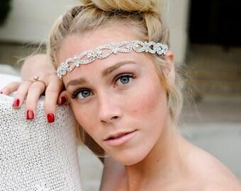 Crystal Headband, Bridal Headband, Vintage Headband,Bridal Headpiece, Wedding Headpiece, Headpiece, Bridal Accessories, Hair Accessories
