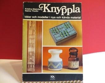 Knyppla, Swedish Lacemaking Book