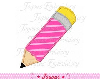 Instant Download  Pencil Applique Embroidery Design NO:1531