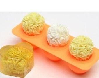 Silicone Soap Mold,Candle Mold, mold, silicone mold, candle mold