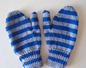 Knitted Gloves Mittens Handmade child / ladies