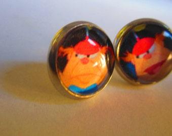 Tweedledee and Tweedledum Earrings