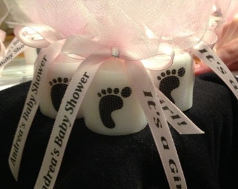 25 Baby Shower Favors, Only 1.75 Each,  Candle Favors, Wedding Favors,Anniversary Favors, Baptism , Holy Communition Favors