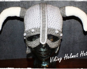 The Viking Helmet Hat Pattern©