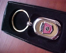 1950s 1960s Ford Truck Crest Two Tone Gold Silver Custom Made Key Ring Quality Product The Nicest Around