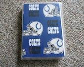 NFL Brag Book ~ Colts, Cowboys, Dolphins, Eagles, Falcons ~ Football ~ Photo Album