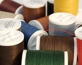 Linen Thread, 3-ply, 50g Spool, German Non-Waxed, for Bookbinding, Leather Sewing, and many other traditional Crafts