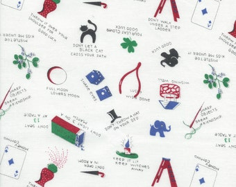 Good Luck Color A from the Talk and Hearts Collection by Junko Matsuda for Daiwabo