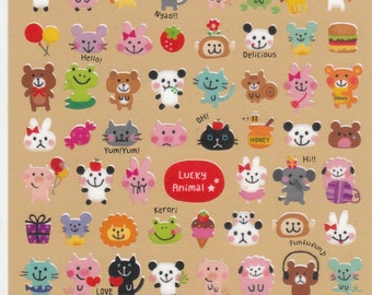 Lucky Animal Stickers (71850) Price depends on order volume. Buy other items together for BETTER price.