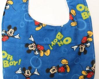 Mickey Mouse Bib