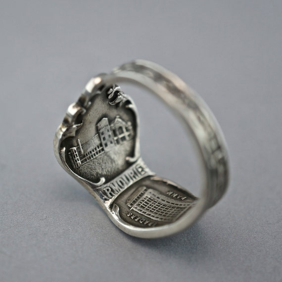 toronto ring canada spoon ring jewelry size 9 by spoonjewelry