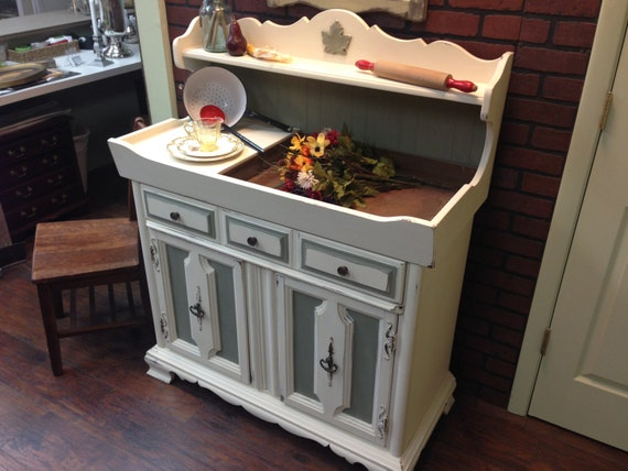 Vintage Dry Sink Country Cottage Furniture Shabby Chic