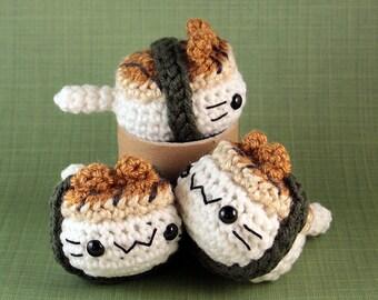 Amigurumi Sushi Cat : Pocket Sushi