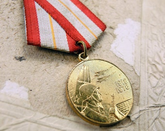Vintage Soviet Medal - f90
