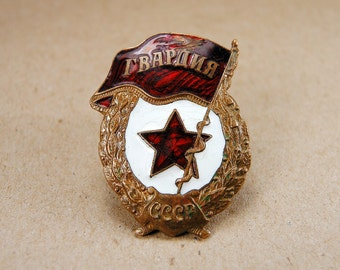 Rare Vintage Military Pin - f134a