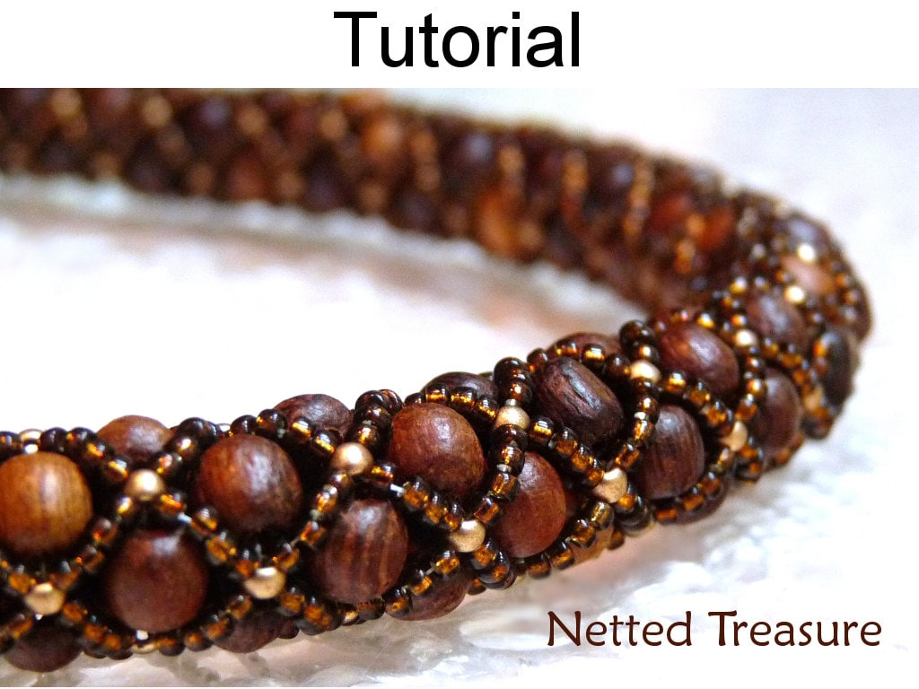 Pearl bracelet making step by step