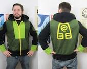 Elemental Earth -- Handmade Anti-Pill Fleece Hoodie / Sweatshirt