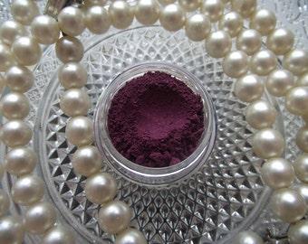 Berry Hunting - Plum Red Purple Semi Matte Eyeshadow Organic Vegan