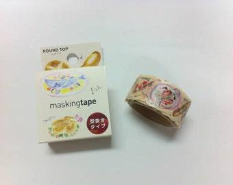 ROUND TOP  Meganai /  Masking Tape / rt-mkm-001 doof cake  / 20mm x 5M