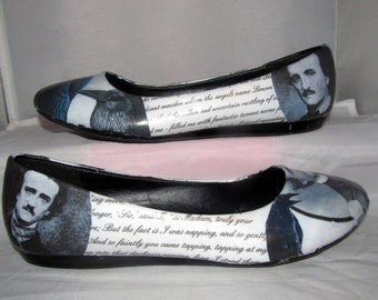 """Edgar Allan Poe """"The Raven"""" Poetry Flats - Made to Order"""