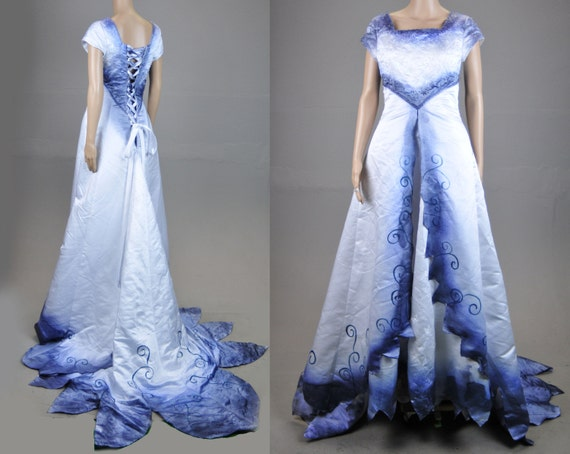 Corpse Bride Wedding Gown: Items Similar To Upcycled Tim Burton Corpse Bride Wedding