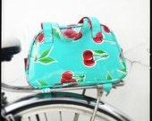 Oval saddle bag