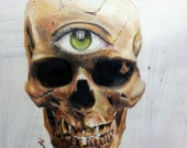 Eye See You! Colored Pencil Portrait: One of a Kind Reese Hilburn Art