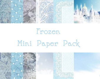 Frozen Mini Paper Pack