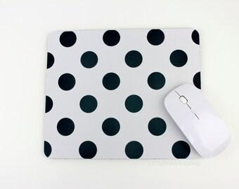 Mousepad / Polka Dot Mousepad / Mouse Pad / Mat