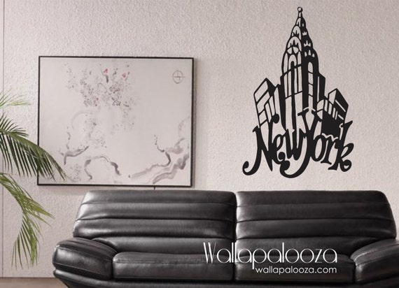 New york decals for walls