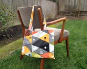 Tote Bag Clearance Sale! Not Your Groceries' Tote in Graphic Triangle! Reusable Tote