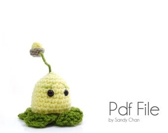 Crochet Plants VS Zombies Kernel Pult PATTERN