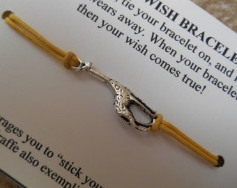 Giraffe Wish Bracelet - Choose your Color