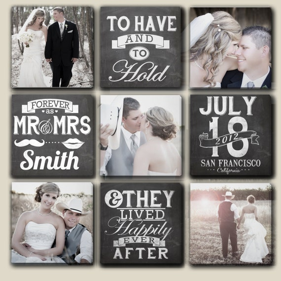 mr and mrs wedding canvas art personalized wedding gifts