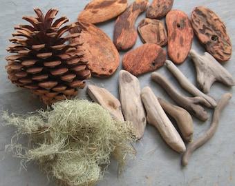 Mixed Natural Materials