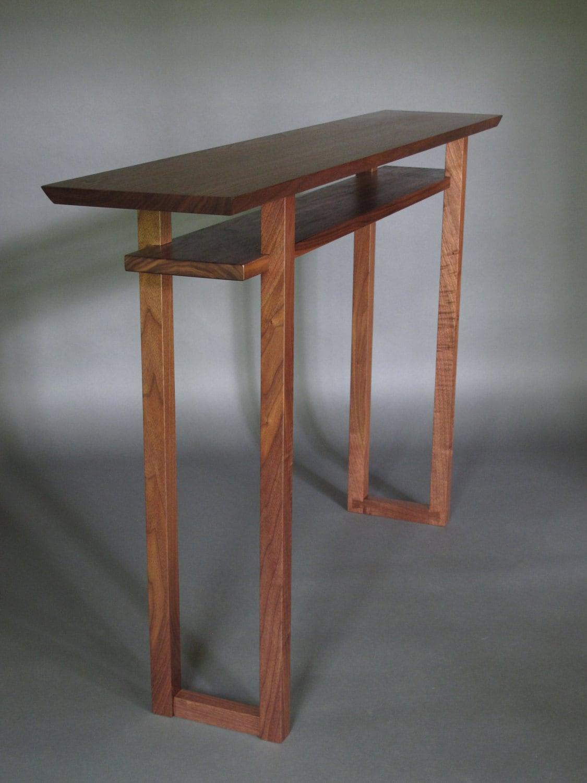 Narrow Vanity Table - Narrow Leg Vanity Modern Nightstands ...