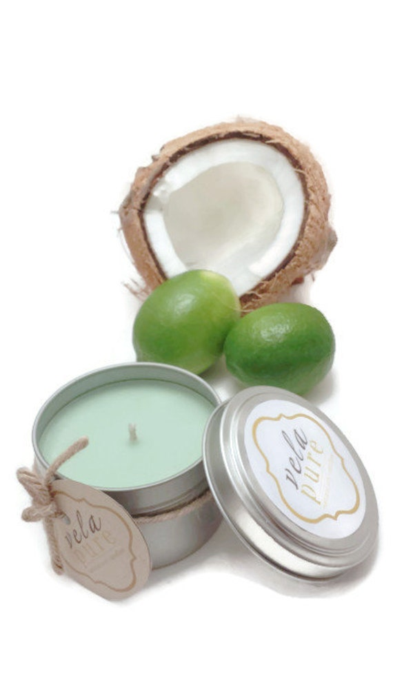 6 oz. Coconut Lime Soy Candle (Summer Fragance)