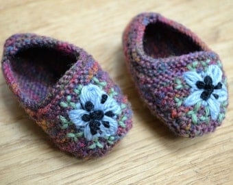 Love-in-The-Mist Baby Shoes