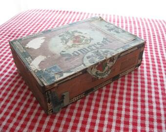 Wooden Somerset Cigar Box
