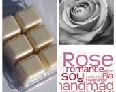 White Rose Scented Soy Wax Melts