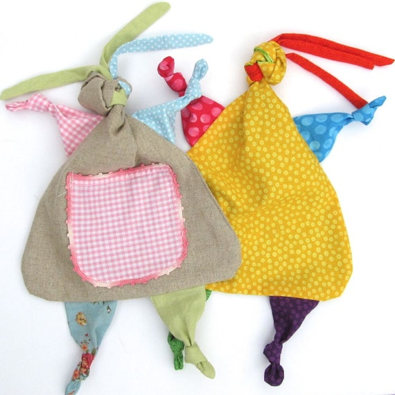Rag Doll Lovey Pdf Sewing Pattern Baby Tag Blanket