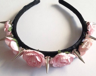 Liberty Spike Rose Headband