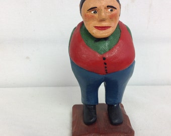 West Newton Figure with Hands in Pocket