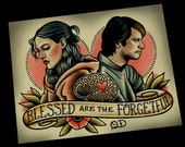 Blessed Are The Forgetful Art Print