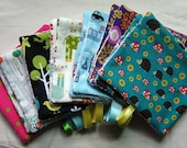 Washable car seat/ buggy/ push chair strap protectors/suck pads/drool pads in choice of fabrics