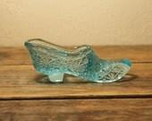 Fenton Glass Slipper