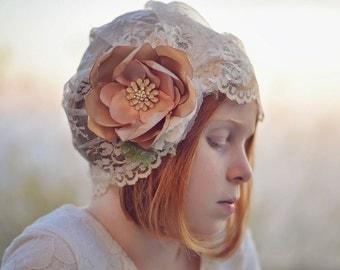 Lace Hat...Vintage Style..Girls...Women