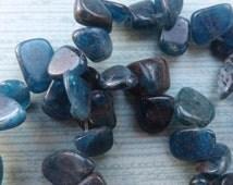 Kyanite beads, baroque beads, blue beads , blue kyanite